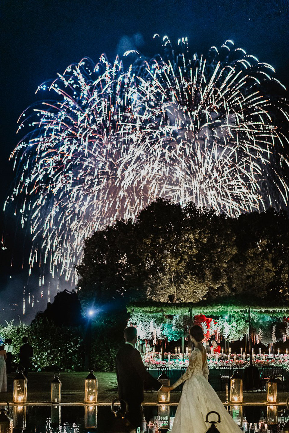 Villa Balbiano Lake Como best exclusive luxury property for weddings events firework swimming pool park garden design