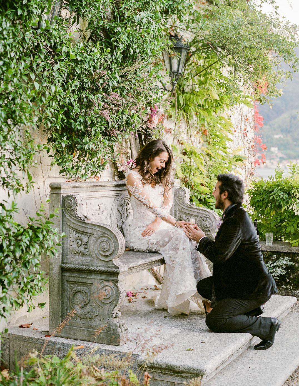Villa Balbiano luxury property Lak Como Milan destination wedding engagement elopement best service beautoful garden park swimming pool boat house for bride groom e1569596398943