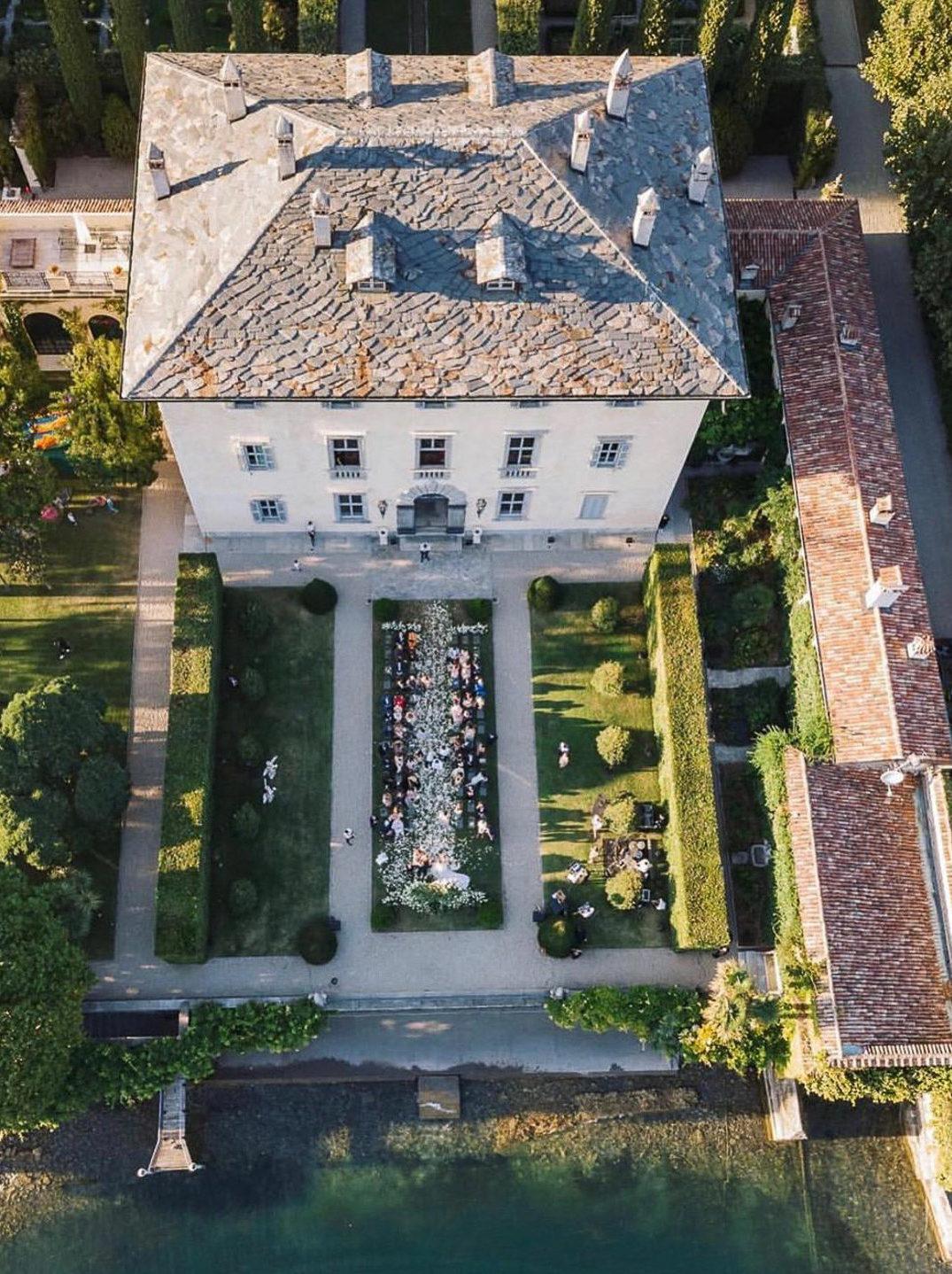 Villa Balbiano luxury property Lake Como Italy exclusive private rent rental best wedding venue events ceremony place vast park garden best view elopment engagement services