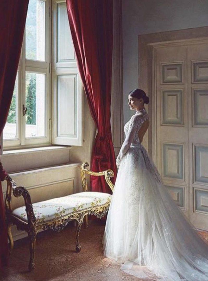 Villa Balbiano luxury property Lake Como Mila Italy exclusive event wedding accommodation master suite bedroom interior for ceremony e1573584009255