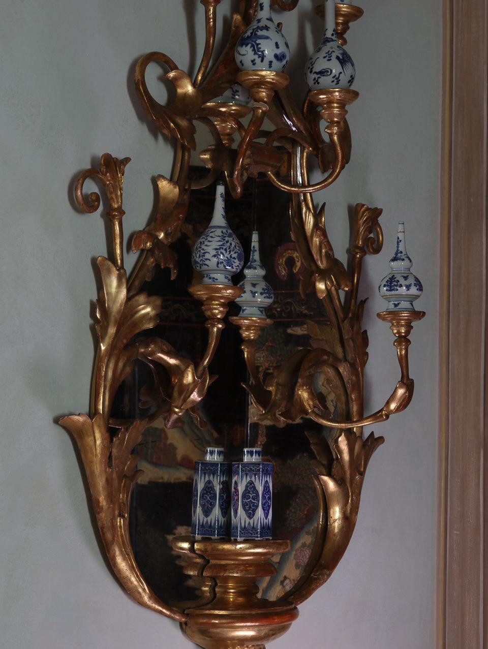 Villa Balbiano luxury property Lake Como Milan best decor decoration 4 floors candelabras antique Chinese porcelain bedroom 17 century availble request
