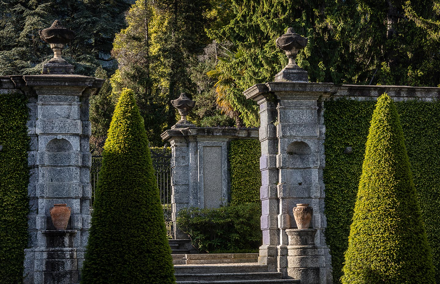 Villa Balbiano luxury property Lake Como Milan private access park gardens swimming pool boat service exquisite plants trees flowers garden design