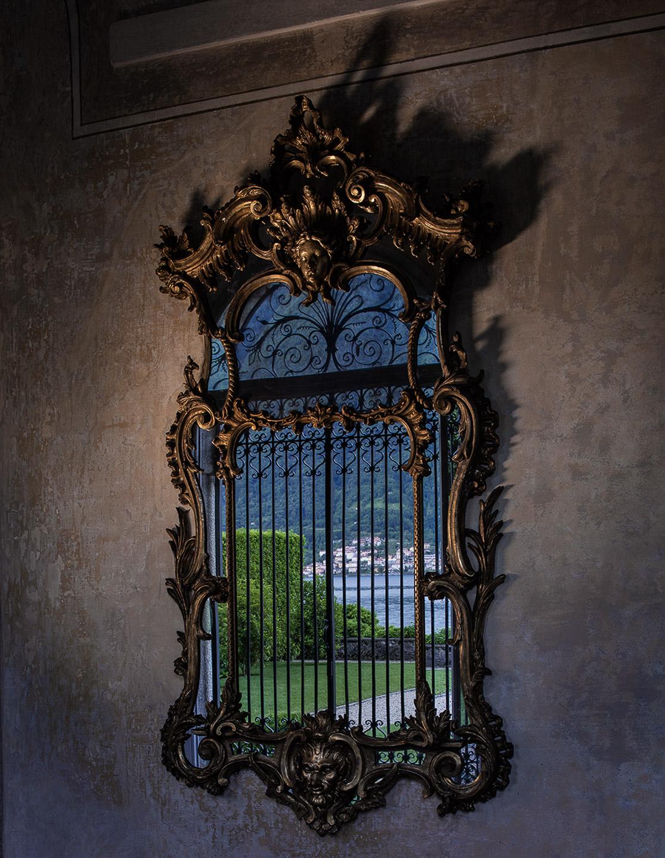 Villa Balbiano stunning exclusive property event venue on lake Como winter garden wall 18th century gld mirror garden reflection best intimate wedding_