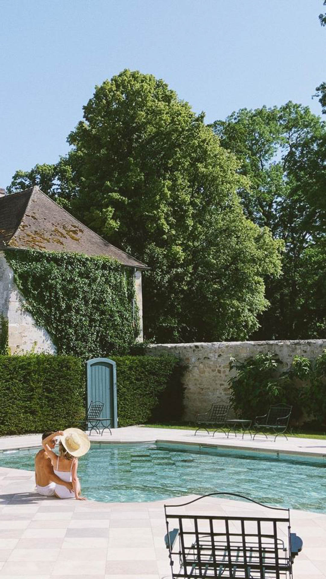 Chateau de Villette Paris The Heritage Collection luxury property exclusive rent rental destination weddings luxe travel accommodation high level services swimming pool party