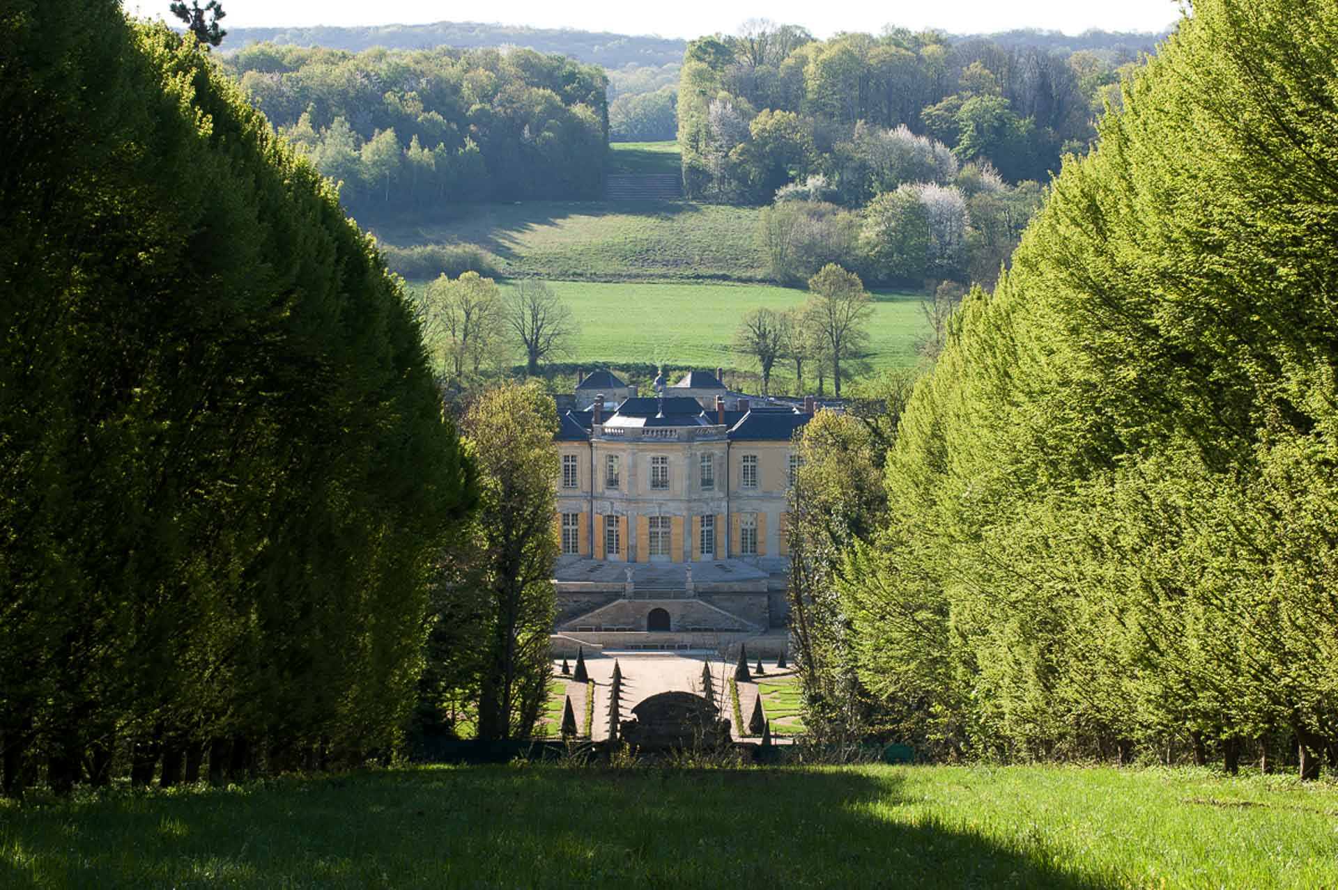 Chateau de Villette private estate dream venue for wedding reception ceremony offering luxury accommodation night stay magnificent garden collection of antique furniture
