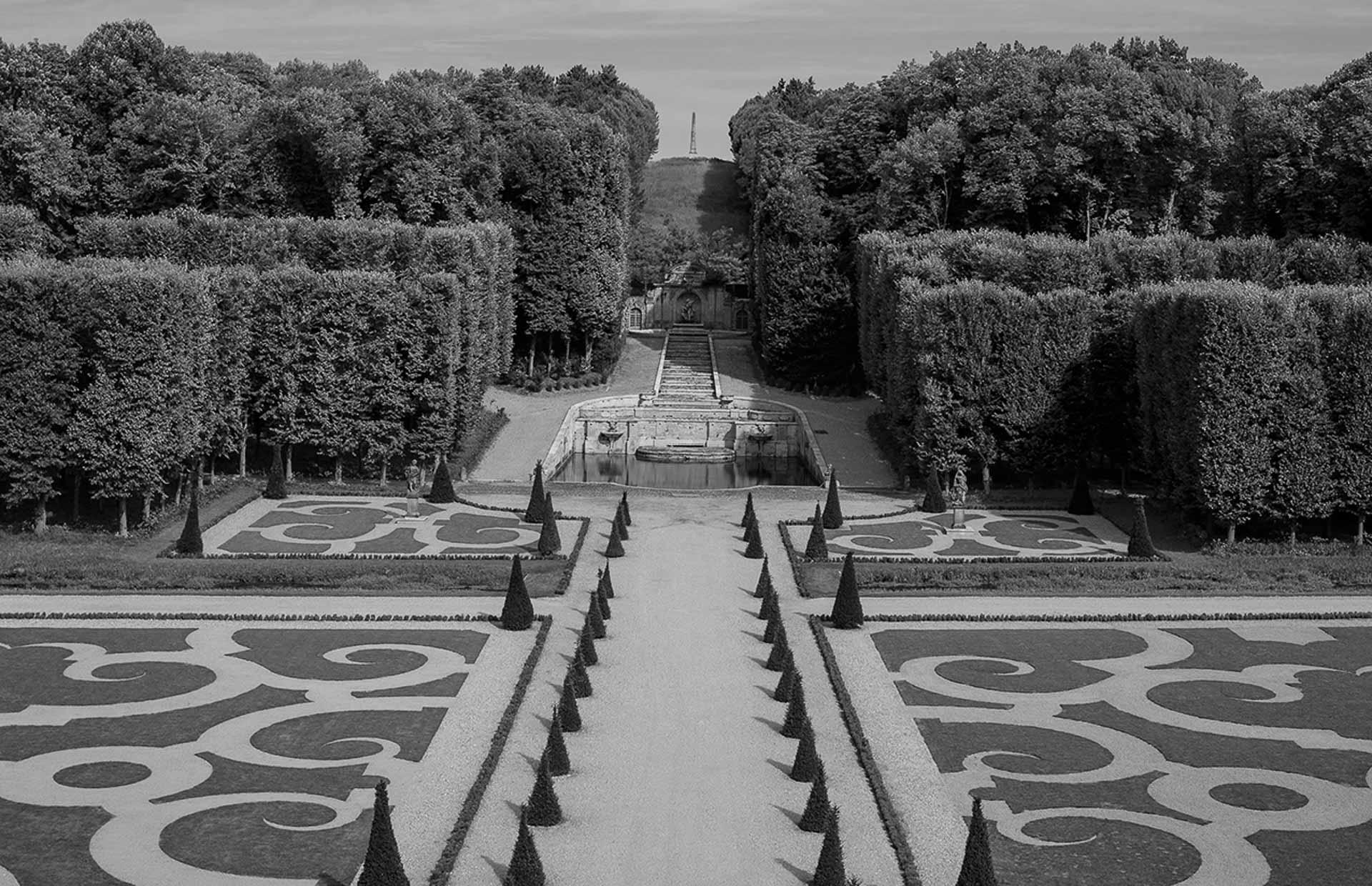 Chateau de Villette private residence near Paris France big garden parterre ideal location luxury wedding seminar dinner 6