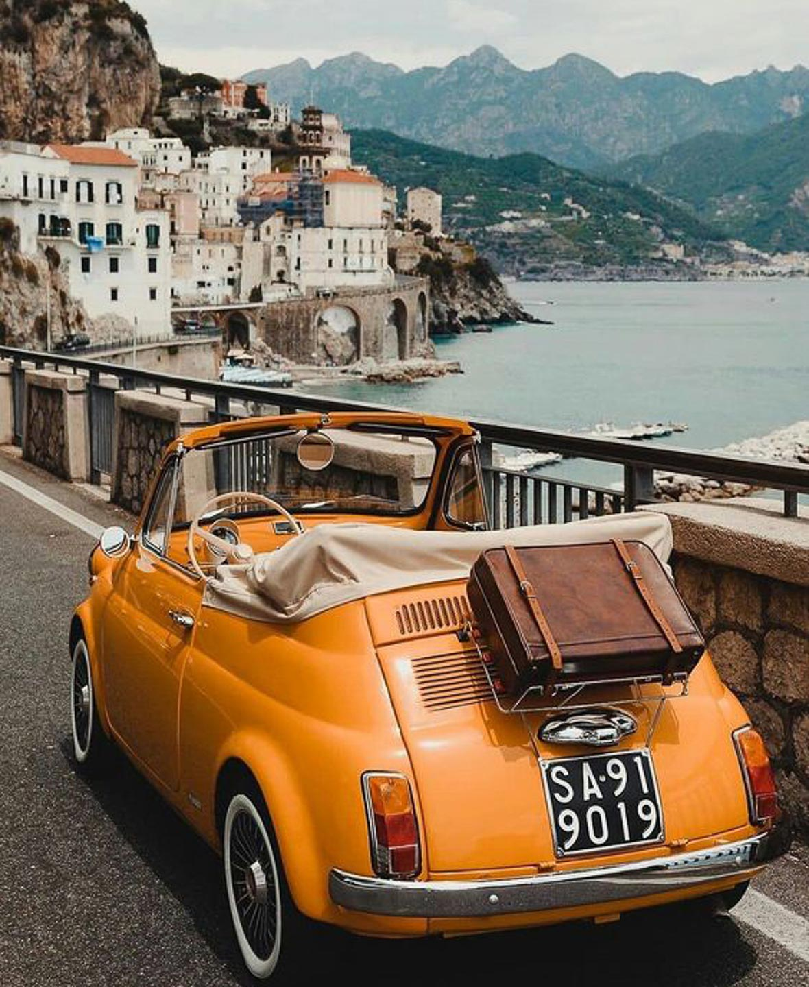 The Heritage Collection luxury Villa Astor Amalfi coast Italy property exclusiveerge super chic accommodation gorgeous Suite interiors top destination vintage car
