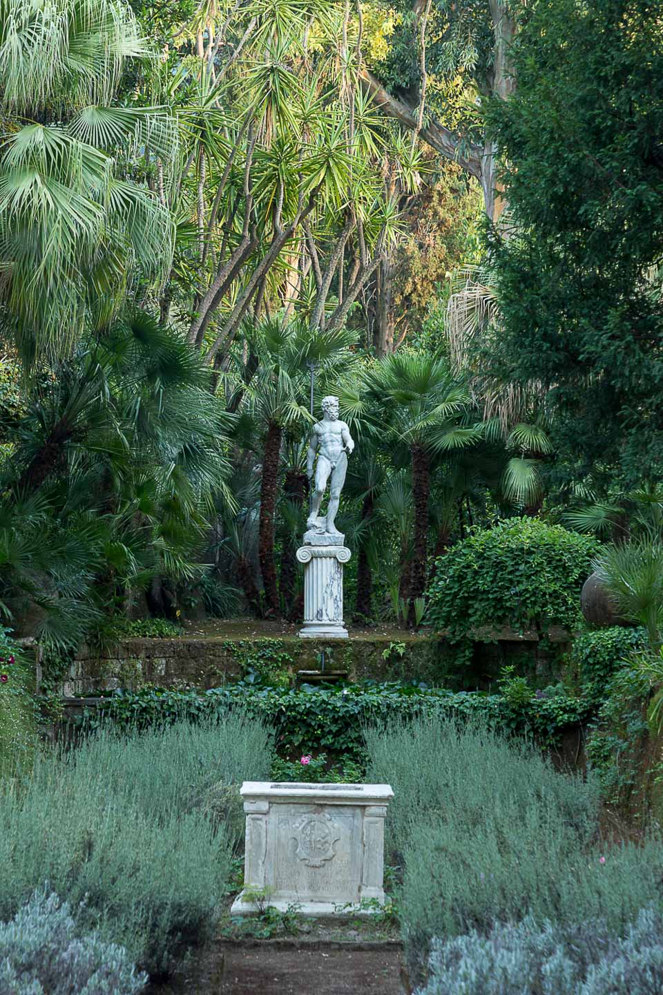 Villa Astor Italian best garden statue lavander beautiful wild landscape for exquisite dinner lunch Italian wine food luxurious accommodation stay holiday vacation 1