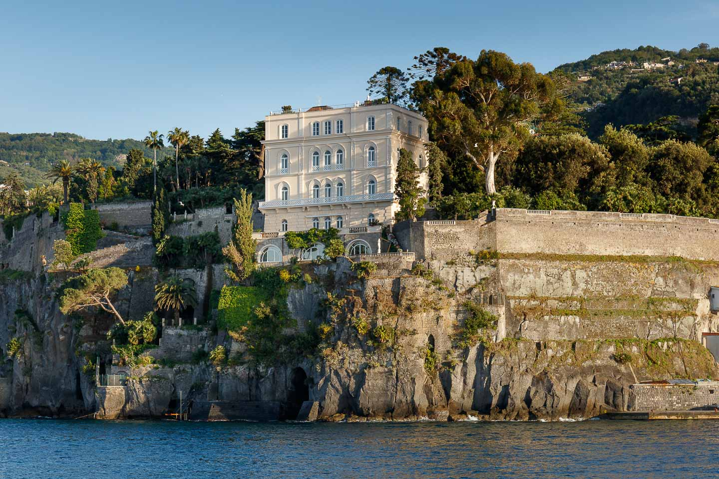 Villa Astor Sorrentine Peninsula Naples Bay Sorrento luxury rental private property sea view 1
