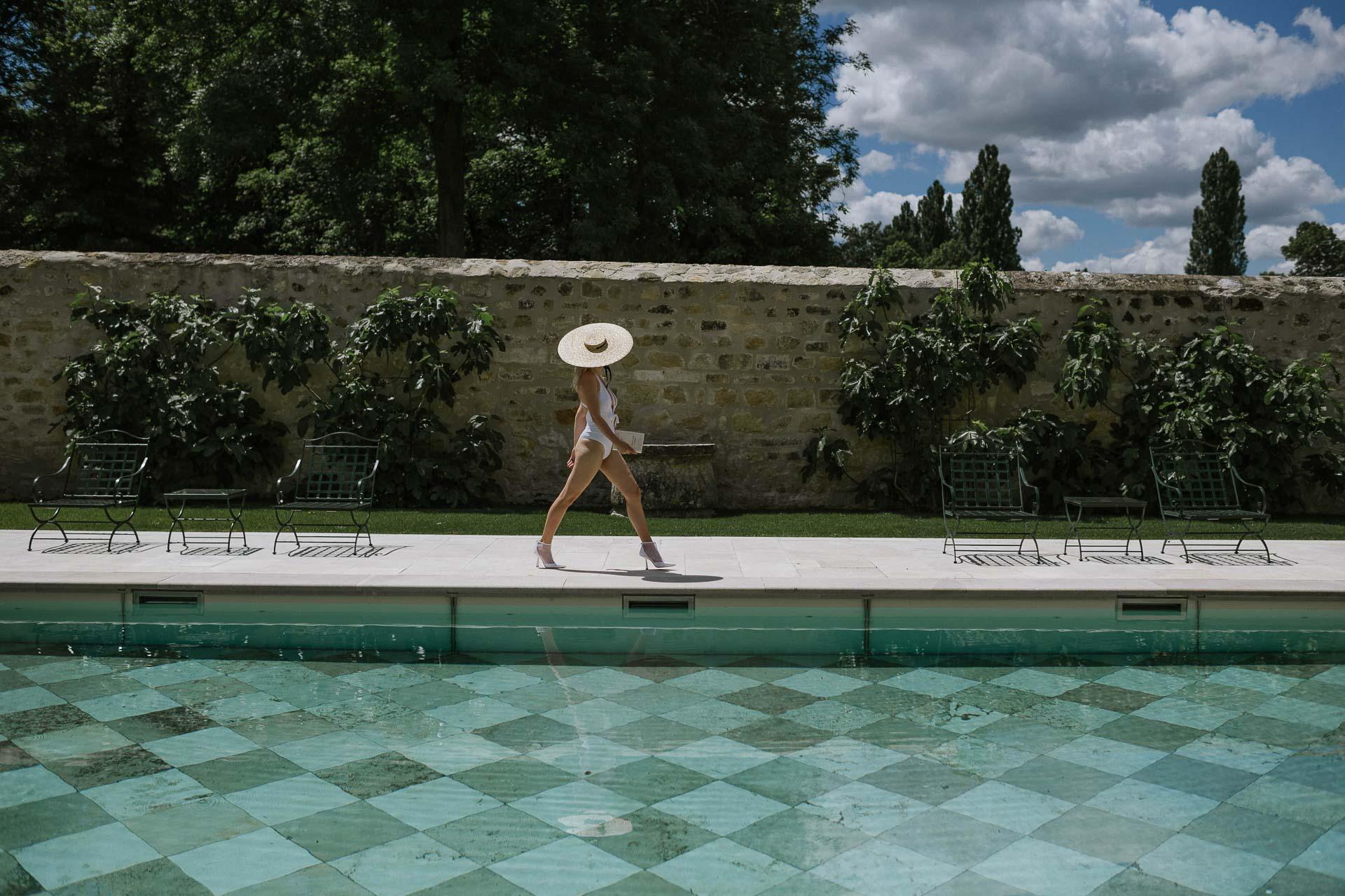 piscine chateau de villette