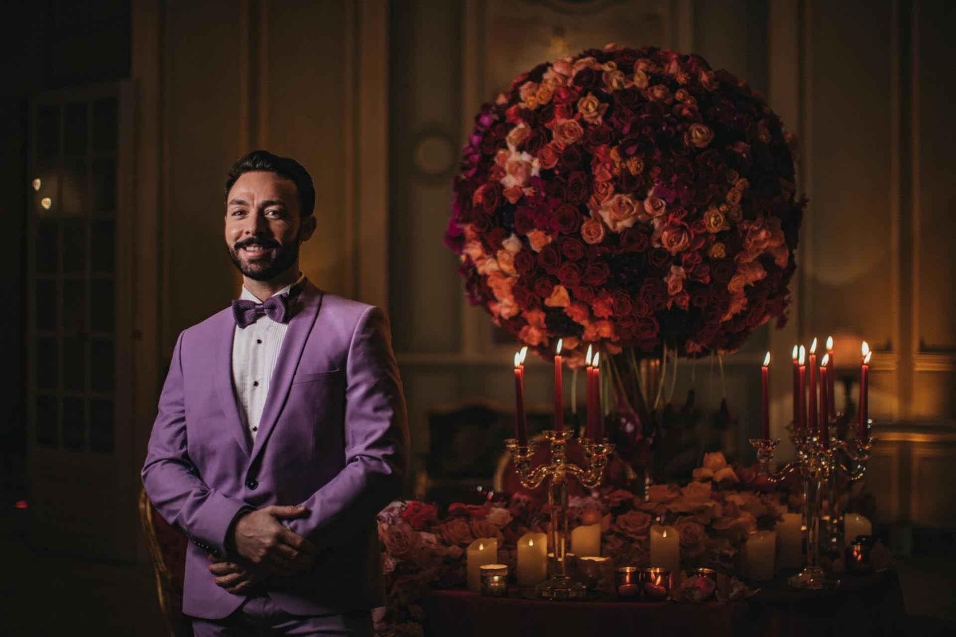Sumptuous events wedding planning agency Jean Charles Vaneck The Heritage Collection