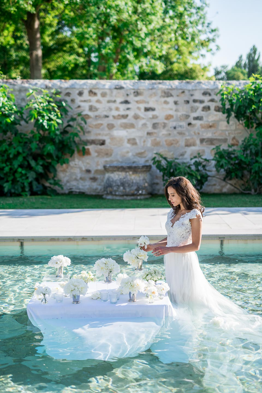 chateau de villette french destination wedding elopement intimate wedding inspiration paris event venue