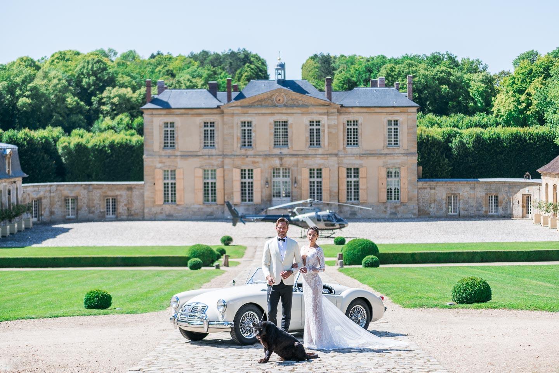 chateau de villette iconic historical chateau destination weddings private photoshoots luxury event venue france paris
