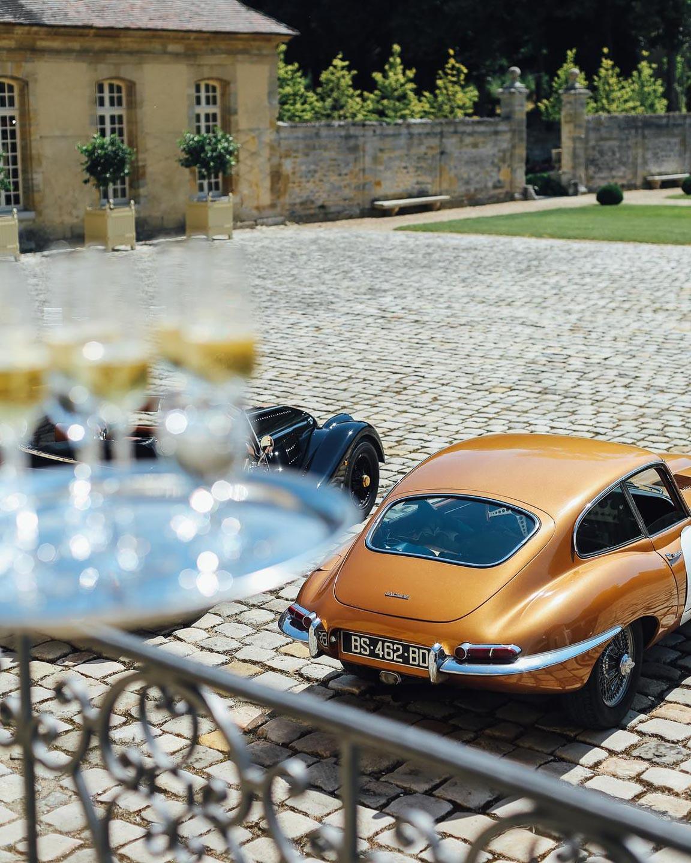 chateau de villette luxury event venue paris france vintage car rally sothebys