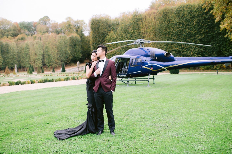 chateau de villette weddings events venue france paris private photoshoot anniversary ideas helicopter rental