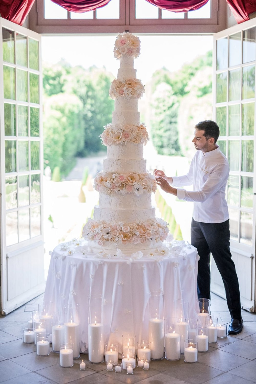 Bastien Blanc Tailleur wedding cakes The Heritage Collection