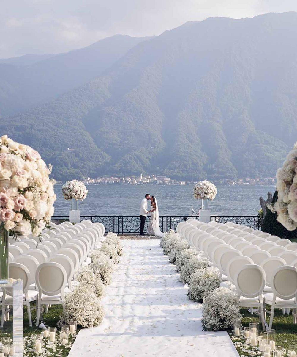 Becky Glen Wedding at Villa Balbiano Cover