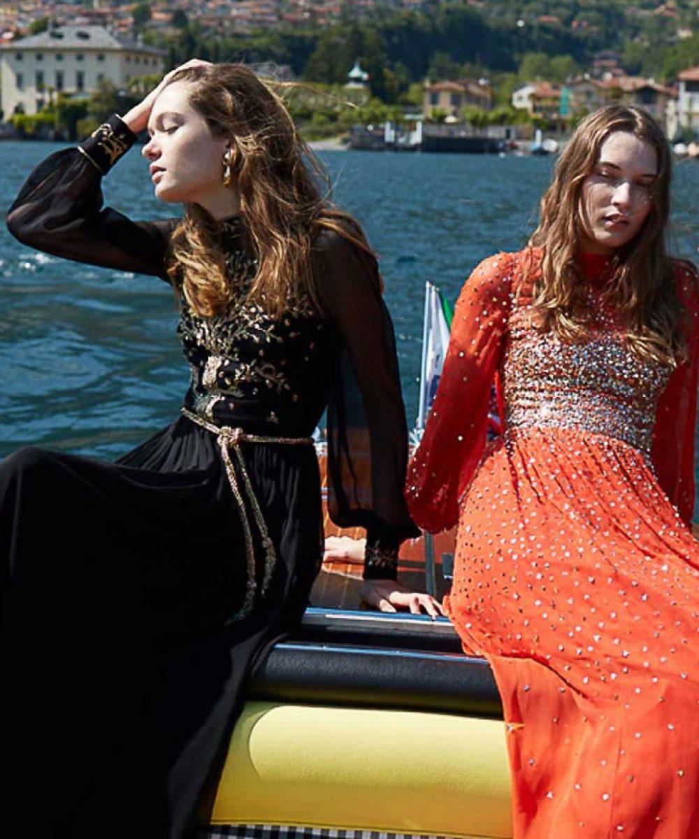 Monique Lhuillier on Lake Como 14